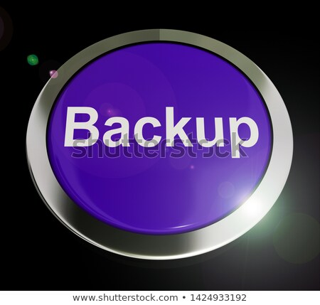 Data Memory Shows Backing Up To Cloud Storage Stock photo © stuartmiles
