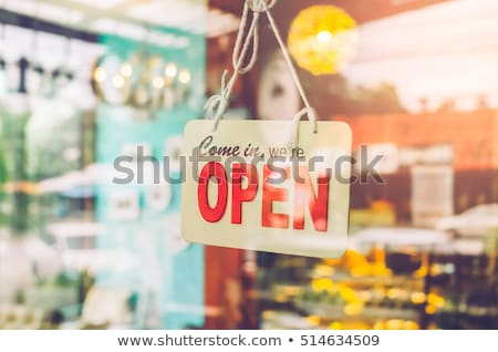 Brightly Colored Messaging Windows Stock photo © cteconsulting