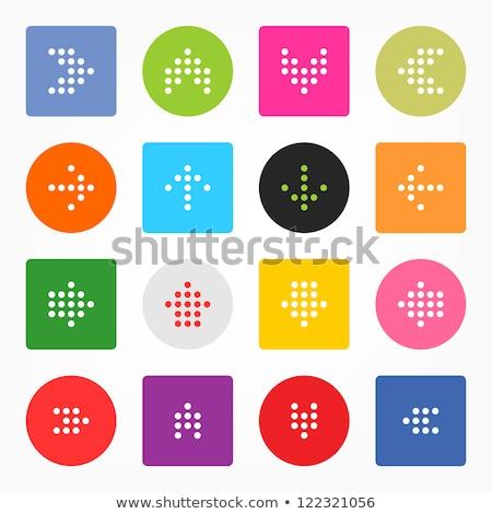 Puan tahta vektör mor web simgesi Stok fotoğraf © rizwanali3d