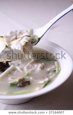 Food In China - Boiled Fish Flake Stock fotó © wxin