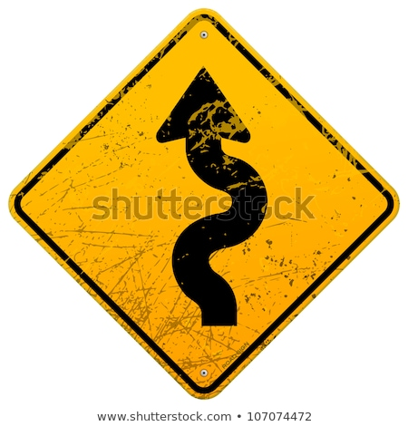 Starzenie się ostrzeżenie znak drogowy wygaśnięcia niebo tle Zdjęcia stock © tashatuvango
