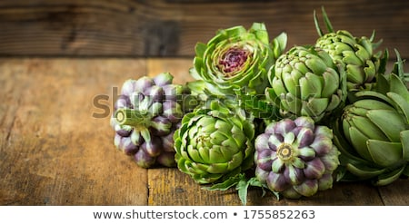 Artichokes Background Stock photo © zhekos