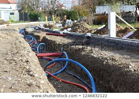 New cable installation Stock photo © Novic