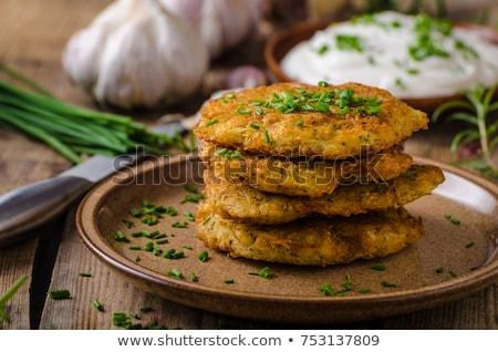 pancakes from potato stock photo © tycoon