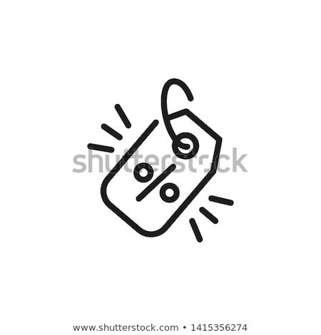 вектора икона дизайна черный Сток-фото © rizwanali3d