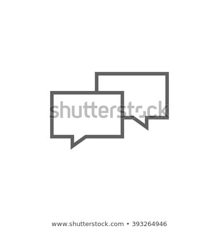 espacio · despegue · línea · icono · web · móviles - foto stock © rastudio