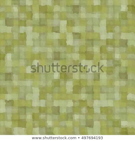 Karışık yeşil yama işi kare model Stok fotoğraf © Melvin07