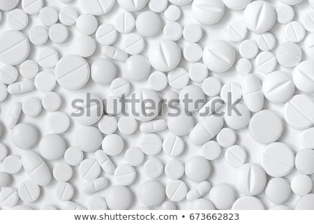 Different shapes of medicinal pills Stock photo © bluering