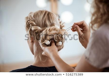 Nice girl in the beauty salon Stock photo © Anna_Om