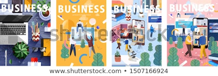 Finance And Business big set Stock photo © Genestro