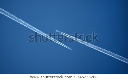 Two Airplanes in the Sky Stock photo © SRNR