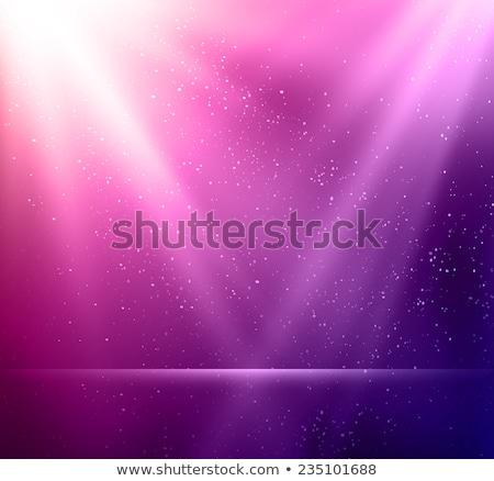abstract magic violet light background eps 10 stock photo © beholdereye