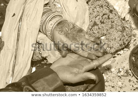 Bruid bruidegom ander park liefde man Stockfoto © wavebreak_media