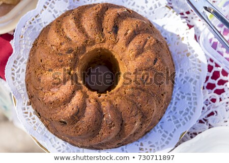 torta · pezzi · piatto · home · cucina · mangiare - foto d'archivio © Kidza