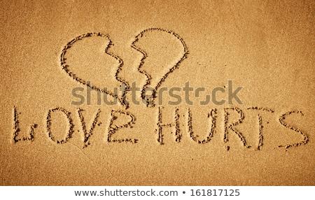 Conceptual picture about unrequited love Stock photo © Kotenko