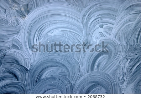 Close up of a vacated shop white painted window. Stock photo © latent