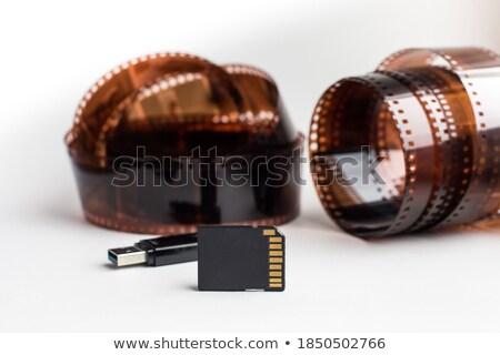 35мм · фильма · Flash · карт · группа - Сток-фото © stokato