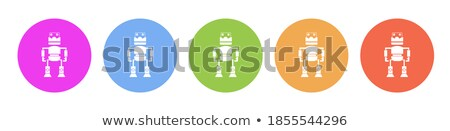 Modern Robots Set, Smart Industry Colorful Banner Stock photo © robuart