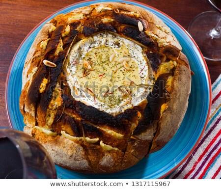 Camembert bread bowl Stock photo © Alex9500