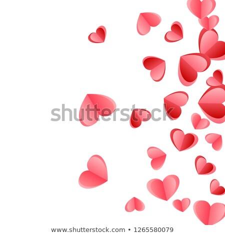 Stok fotoğraf: Little Red Hearts