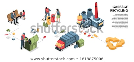 Litter in the factory Stock photo © bluering