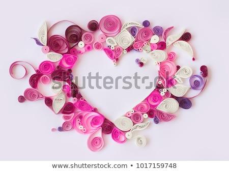 feestelijk · kaart · bloemen · bloem · liefde · abstract - stockfoto © artspace