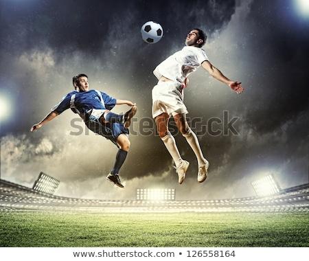 Fútbol partido estadio fútbol jugadores Foto stock © matimix