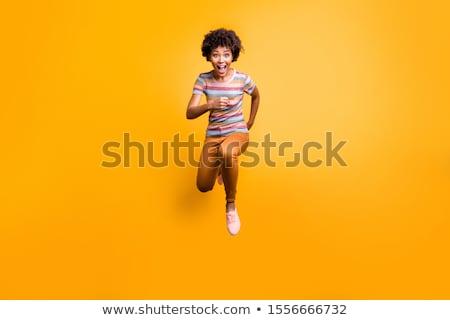 удивленный моде модель девушки Перейти Сток-фото © studiolucky
