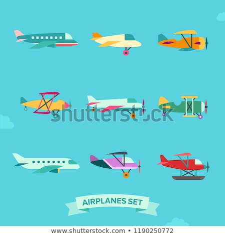 Fly icon in flat style Stock photo © biv