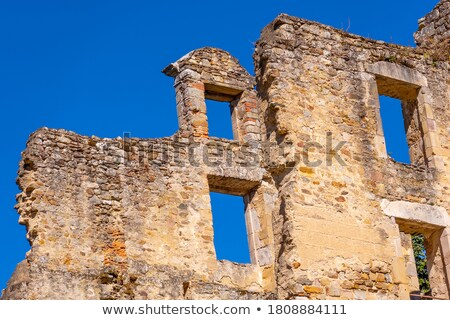 Ruin of a french castle Stock photo © tilo