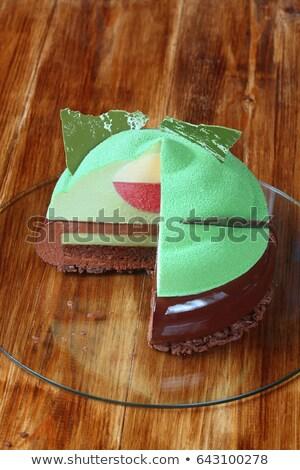 biscotto · torta · coperto · panna · montata - foto d'archivio © lady-luck