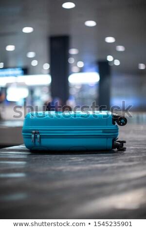 люди международных аэропорту багаж утверждать движения Сток-фото © lightpoet