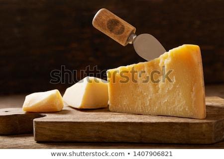 Parmesan still life santé fromages nutrition Photo stock © phbcz