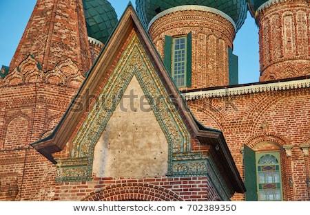 Temple ensemble in Korovniki, Yaroslavl, Russia Stock photo © borisb17