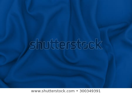 Abstract blue fabric background, velvet textile material for bli Stock photo © Anneleven