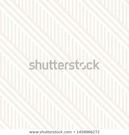 Interlacing Parallel Stripes. Vector Seamless Subtle Monochrome Pattern. Stock photo © samolevsky
