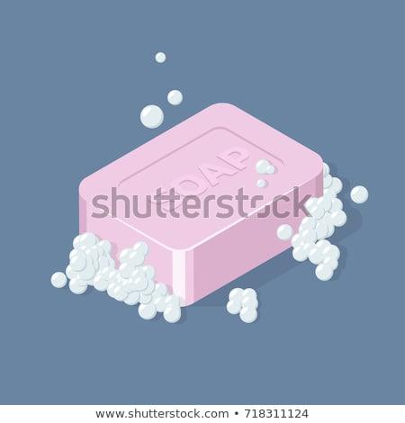 Mani lavare sapone isometrica icona vettore Foto d'archivio © pikepicture