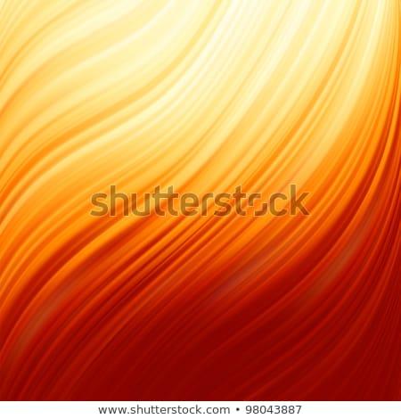 Glow Twist with fire flow. EPS 8 Stock photo © beholdereye