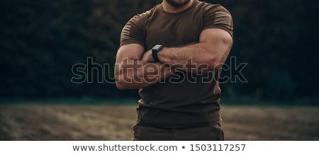 férfi · posta · edzés · víz · munka · sport - stock fotó © photography33