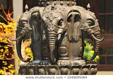 sculpture in the Jade Buddha Temple Stock photo © prill