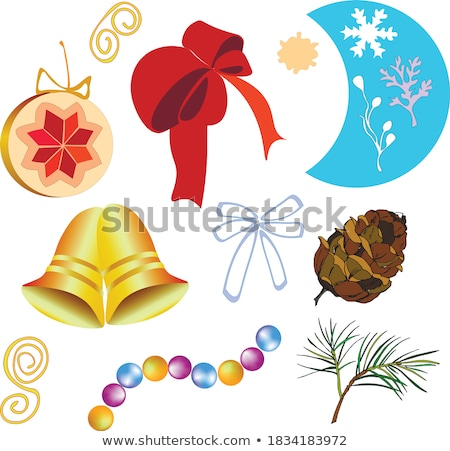 Diamond winter snow flower. vector illustration  Stock photo © carodi