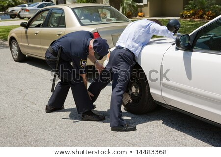 Traffic Stop - Pat Down Stock photo © lisafx