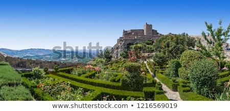 Château paysage jardin été Photo stock © HectorSnchz