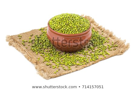 dried uncooked mung or moong daal stock photo © ziprashantzi