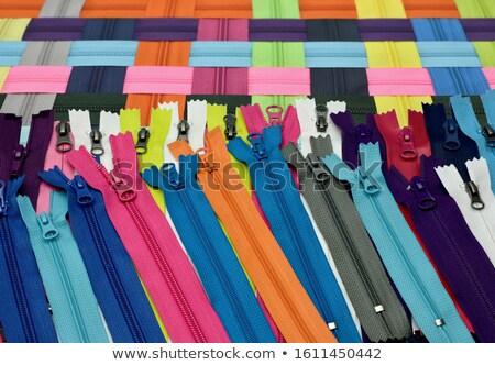 Zíper cor abertura novo cores Foto stock © idesign