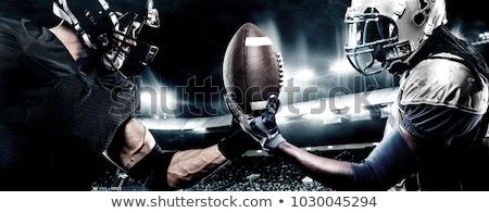 двое · мужчин · футбола · человека · мужчин · студию · мужчины - Сток-фото © photography33