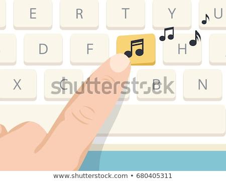 claves · negocios · teclado · color · concepto - foto stock © stevanovicigor