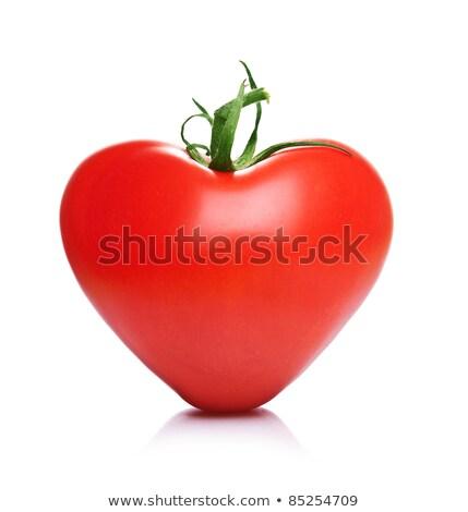 kers · hart · voedsel · liefde · Rood · zoete - stockfoto © m-studio