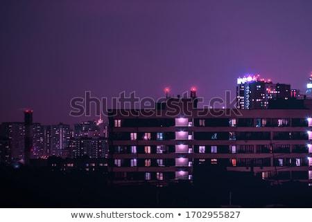 Facade of residental building Stock photo © timbrk