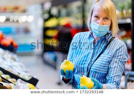 mavi · hava · üfleyici · kauçuk · pompa · toz - stok fotoğraf © doupix